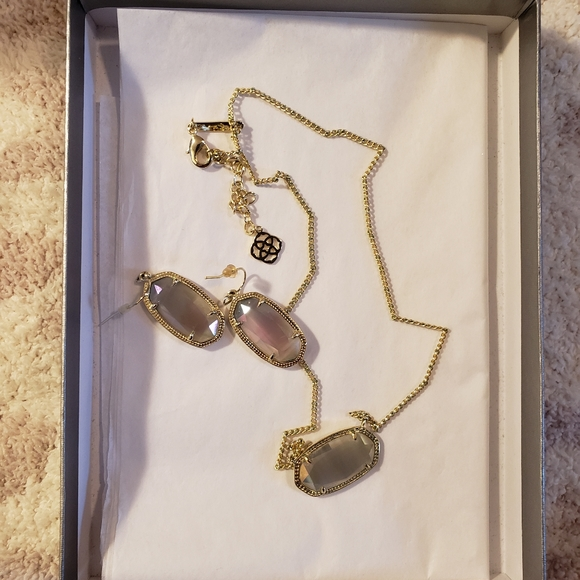 Kendra Scott Necklace & Earrings Set